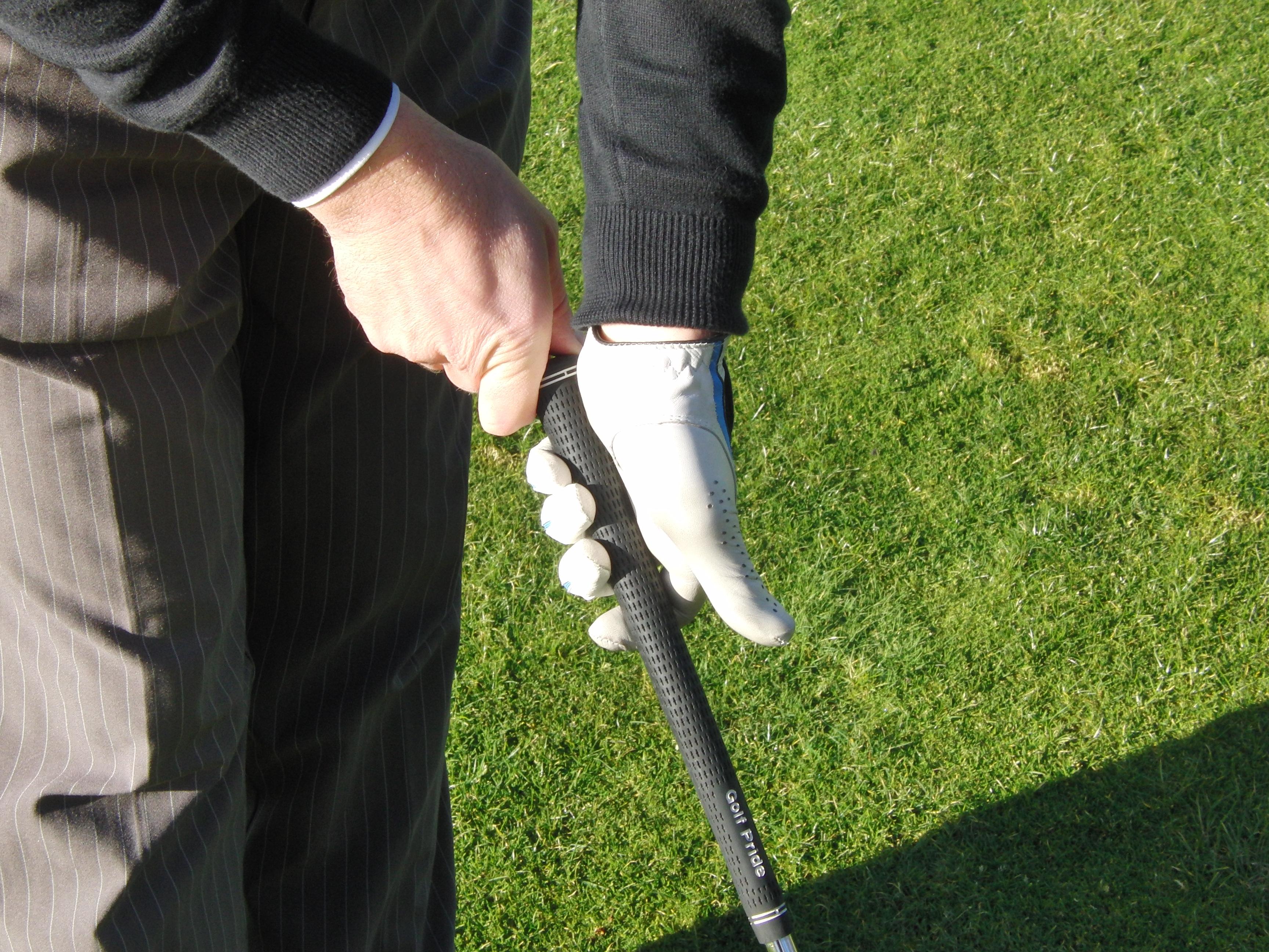 Thumb down golf all