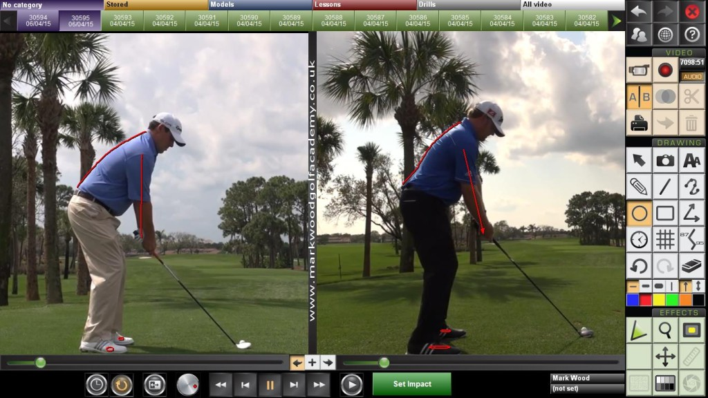 Winners golf swing - J B Holmes